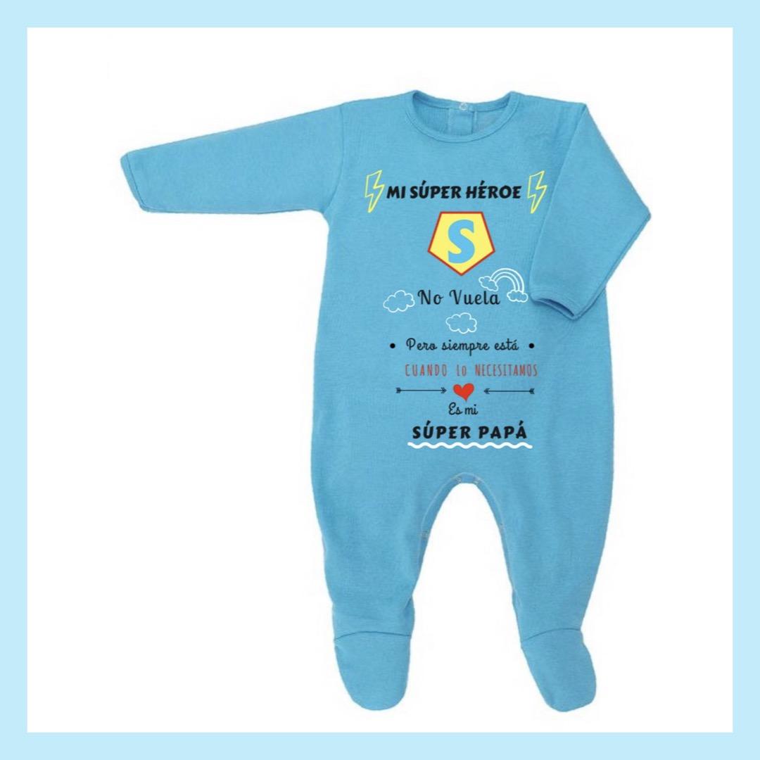 """4de3f817c Pijama personalizado """"Papá es mi súper héroe"""""""