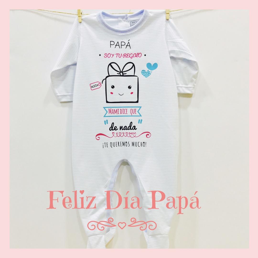 """0414917b5 Pijama Personalizado """"Especial Día del Padre"""" rosa"""