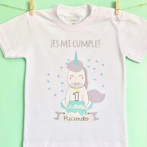 Camiseta personalizada cumpleaños