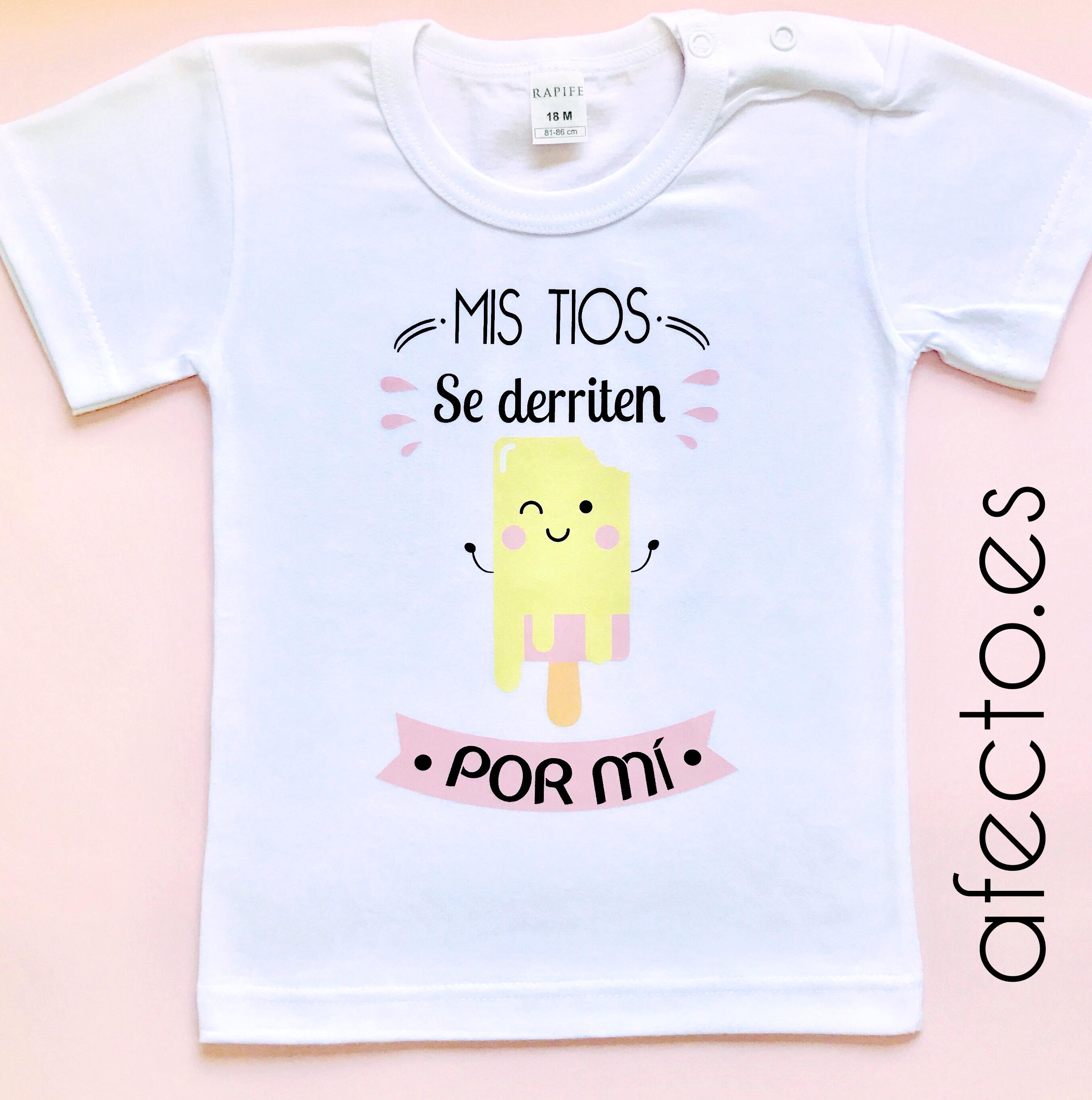 """Camiseta personalizada """"Se derriten a71197263a59e"""