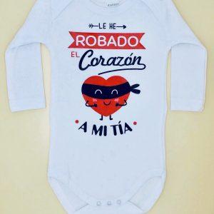 """Body Personalizado """"Roba Corazones"""""""