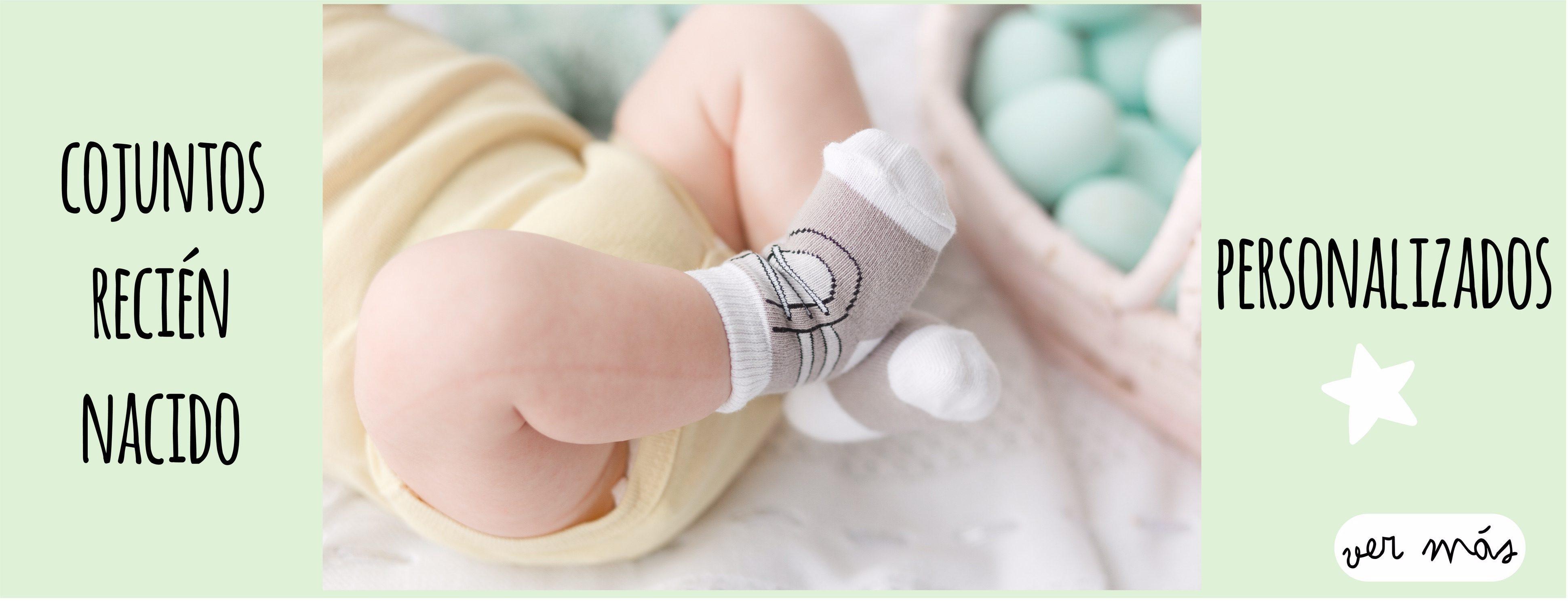 Conjuntos recién nacido personalizados