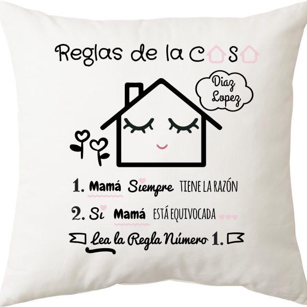 COJIN REGALO MAMA, REGLAS DE LA CASA