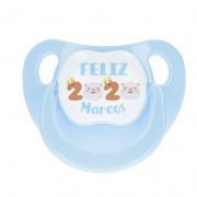 CHUPETE FELIZ 2020 AZUL