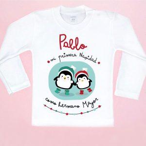 camiseta navidad hermano mayor