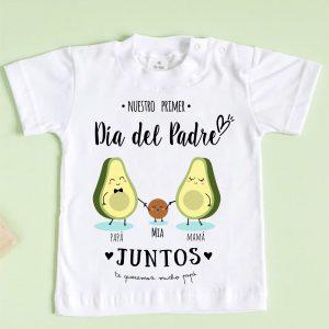 camiseta día del padre aguacate menta