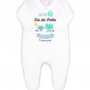 pijama primer dia del padre azul